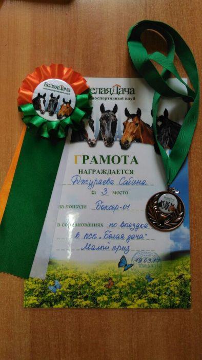 Успешно открыло соревновательный сезон выездковое направление нашего конного клуба